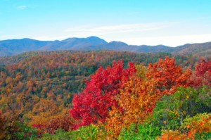 iStock 000011187931XSmall 300x199 Tips and Places to View The Great Smoky Mountains Fall Foliage